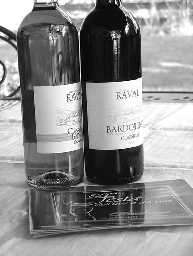 Vino Bardolino - Vino Chiaretto b&w