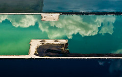 these man-made lakes west of miami internation...