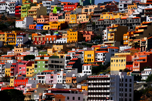 Chapter 3 - La Gomera, Isle of colors (#9):  Houses and colors