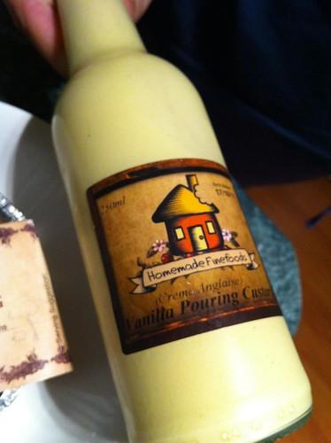 vanilla creme anglais