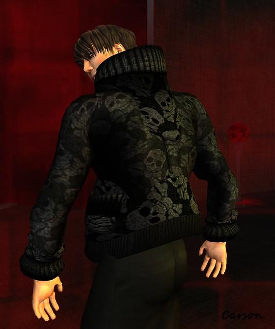 .-Lowlife-. Skullie hoodie,