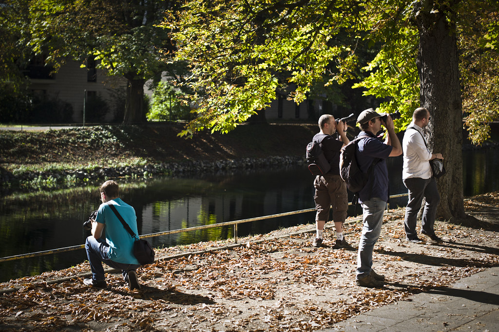 Worldwide Photowalk 2011 in Cologne.