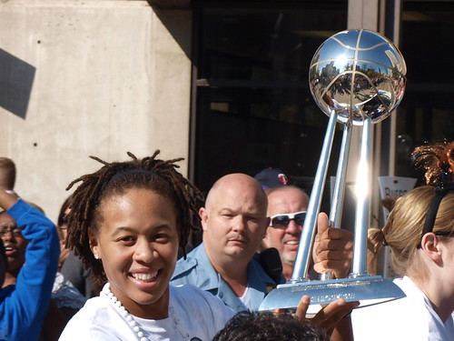 Lynx 2011 WNBA Championship Parade 21