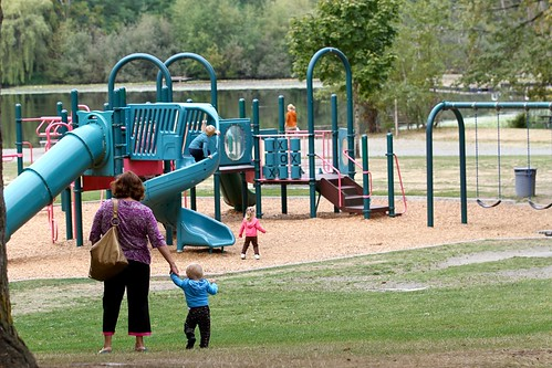 Five Mile Lake Park play area