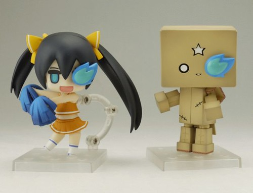 Nendoroid Puchitto Rock Shooter: Cheerful version and Armored huke mk2