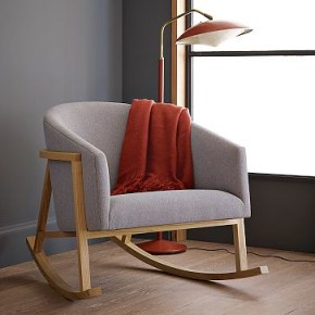 ryder rocking chair west elm