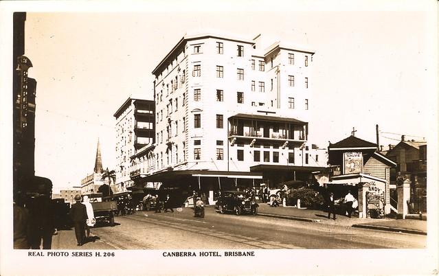 206. Canberra Hotel, Brisbane (1929-1935)