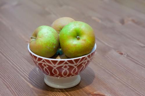 Roxbury Russet apples