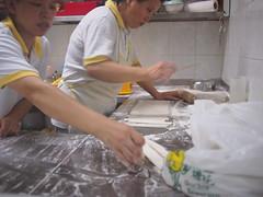 Making dough fritters, Rochor Original Bean Curd, Selegie