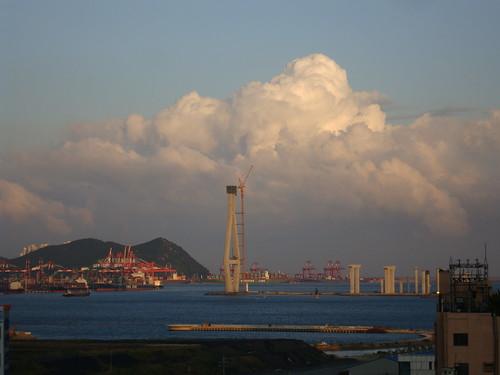 Busan harbor by Jens-Olaf