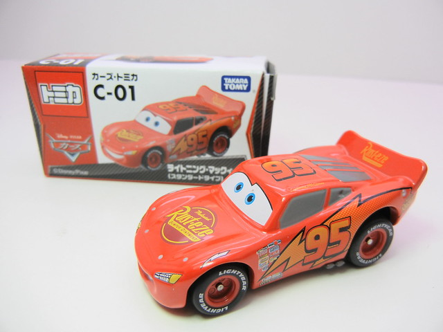 disney cars tomica c-01 lightning mcqueen (2)