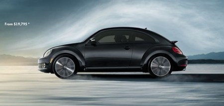 new VW beetle