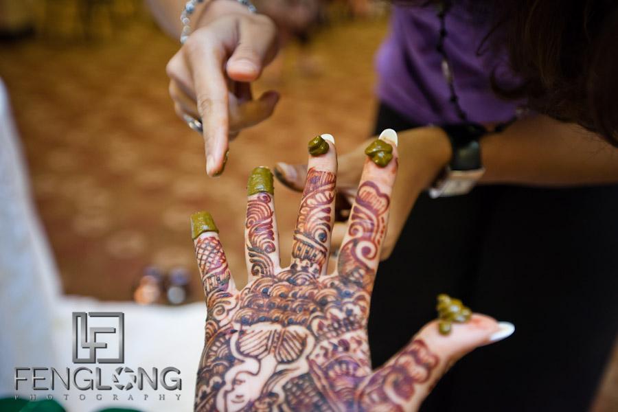 Bride's Henna Mehndi Party | Shamz & Sana's Wedding Day 1 | Hyatt Place Atlanta Airport South | Atlanta Indian Photographer