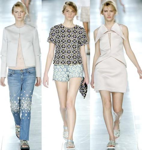 CK Spring 2012 3-set jeans shorts
