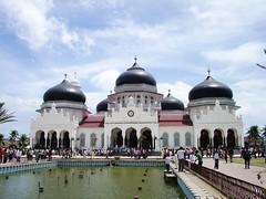 Masjid Baiturrahman, Kota Banda Aceh, MAsjid Agung Aceh,