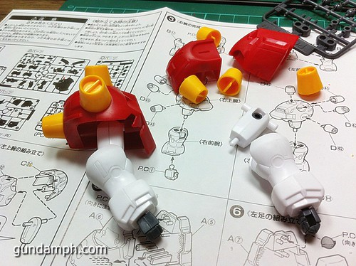 1 144 Devil Gundam Review OOB Build (10)
