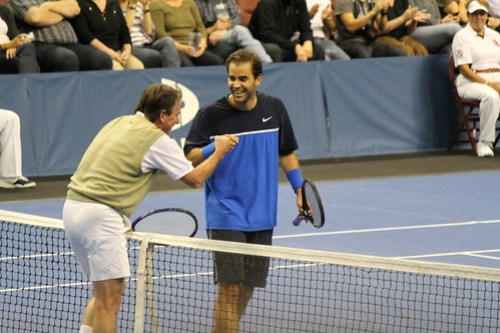 Jimmy Connors & Pete Sampras