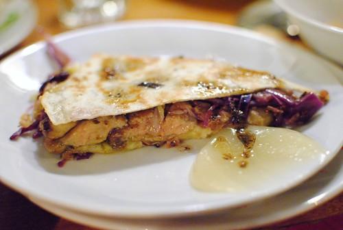 foie gras quesadilla