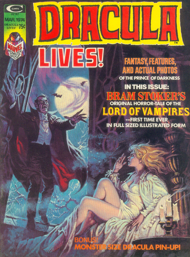 Dracula Lives 05 cover