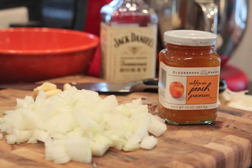 peach bourbon chicken preserves