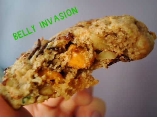Martian cookie invading your belly.