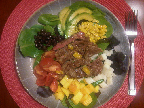 Southwestern Steak Salad with Orange Vinaigrette Recipe