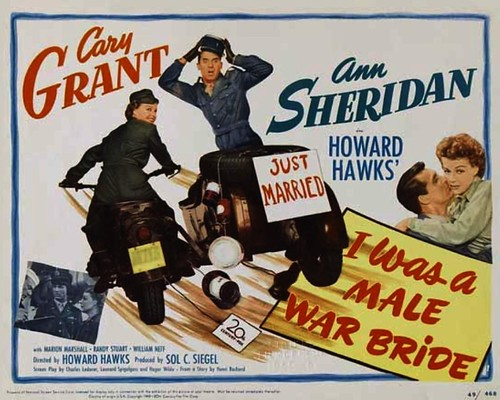 1949 - movie with Cary Grant in drag