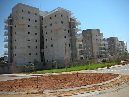 New Israeli Sprawl in Kfar-Saba