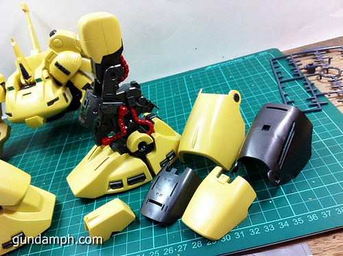 MG The-O PMX-003 Review OOB Build (36)