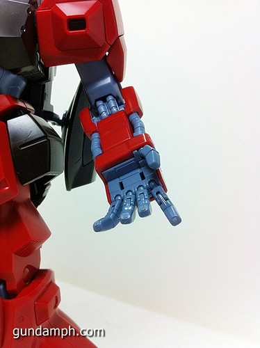 MG Rick Dias Quattro Custom RED Review OOB Build (47)