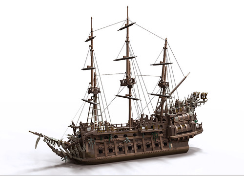 Flying Dutchman for POTC game