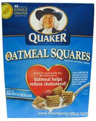 Quaker Oatmeal Squares