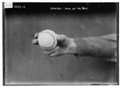 [Dick Rudolph's grip on ball, Boston NL (baseb...