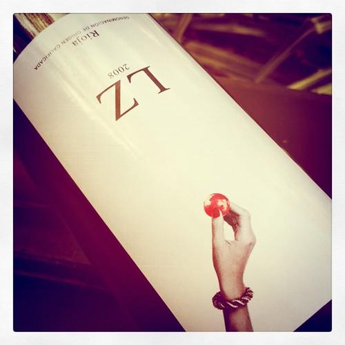 2008 Telmo Rodríguez Rioja LZ
