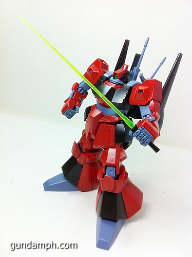 MG Rick Dias Quattro Custom RED Review OOB Build (60)
