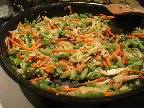 moo shu veggies