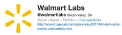 @WalmartLabs