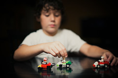traveling in lego style