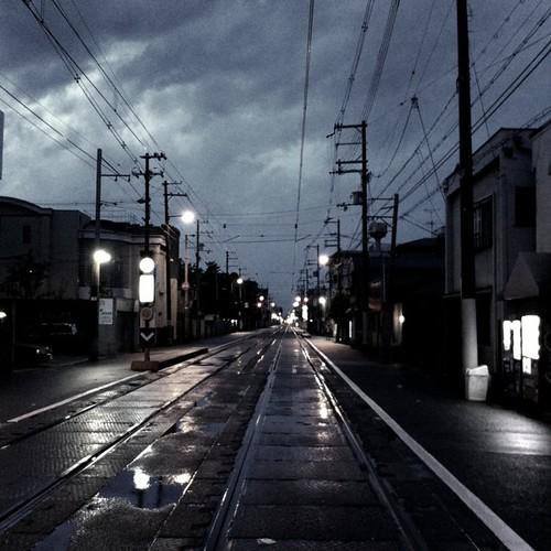 嵐の前の静けさ…  #iphonography #instagram