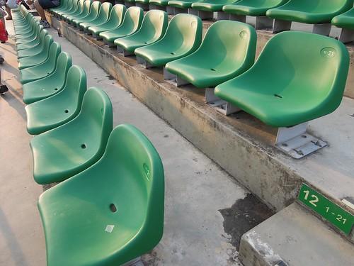 Bay Grandstand Dark Green