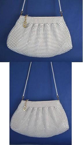 Handbag White Mesh