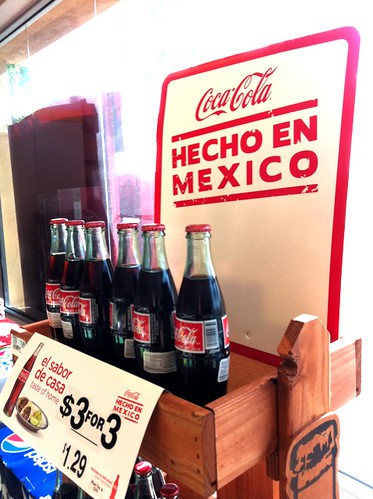 """Hecho en Mexico"" Coke finally available Stateside!"