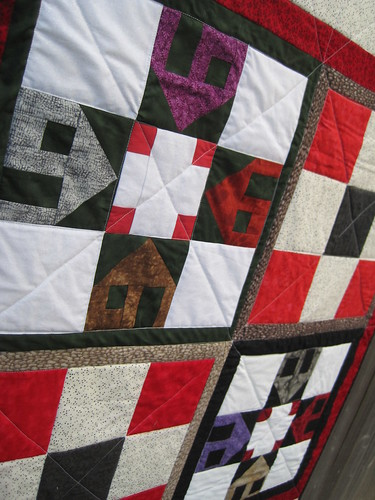 Zepellin Threads BOM Orphan Block quilt