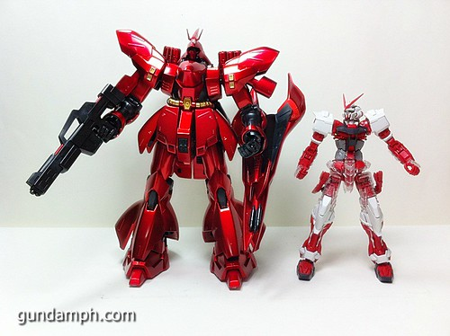 MG Sazabi Metallic Coating (Titanium-Like Finish) (65)