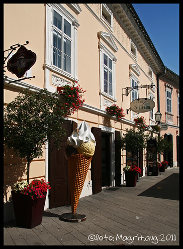 Samobor, ice cream