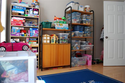 Super Organized Play Room