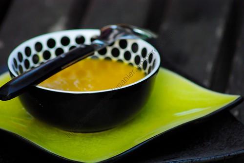 Soupe aux carottes et lentilles corail / Carrots and Coral Lentils Soup