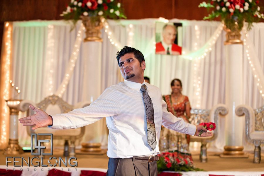 Emcee - Groom's Brother | Shamz & Sana's Wedding Day 3 | Zyka Indian Banquet Hall Decatur | Atlanta Indian Photographer