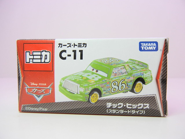 disney cars tomica c-11 Chick Hicks (1)