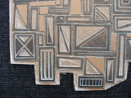 Lino Block.